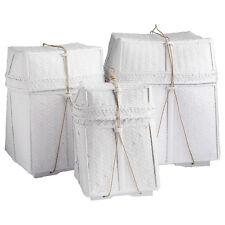 aufbewahrungsk rbe aus korb mit deckel ebay. Black Bedroom Furniture Sets. Home Design Ideas