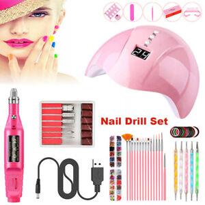 electric nail drill machine nail art acrylic uv gel file