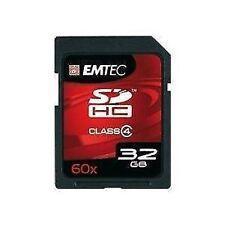 EMTEC SDHC 32GB 18mb/s for Sony DSC TX10, J10, HX5, Nex-3, Nex-5