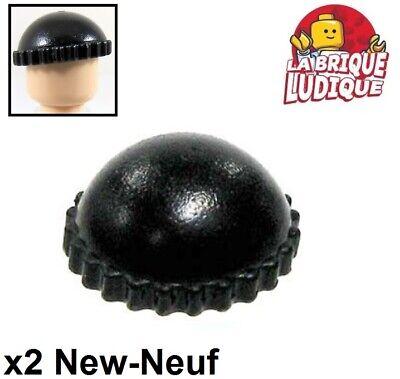 1x Minifig headgear hat chapeau bonnet bleu foncé//dark blue 41334 NEUF Lego