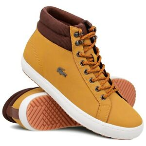 Lacoste Straightset Insulac Tan Leather
