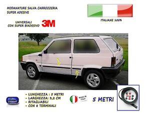 Fiat-Panda-Vecchia-Tuning-Modanature-adesive-per-1100-trekking-4x4-auto-in-gomma