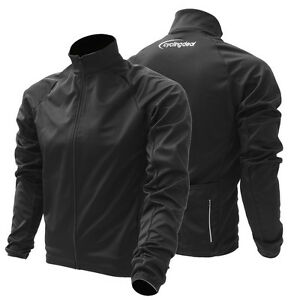 Cycling-Bicycle-Bike-Jersey-Waterproof-Wind-Jacket-Black