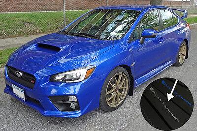 Rally Armor 2015-2019 Subaru WRX /& STI Sedan Black UR Mud Flaps w// Silver Logo