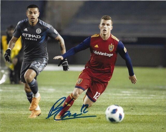 Real Salt Lake Brooks Lennon Autographed Signed 8x10 MLS Photo COA