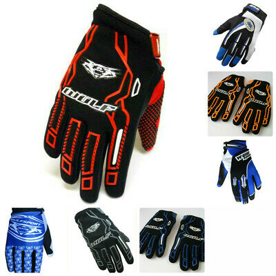Wulfsport Adults Knee Pads Guards Motocross Enduro Quad Safety Wulf Rm Kx Cr Sx