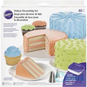 Wilton-46Pc-Delux-Cake-Decorating-Set