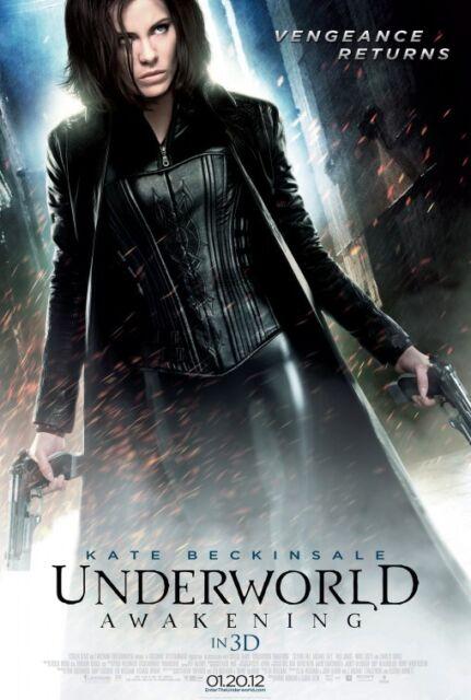 "Underworld Awakening Movie Silk Fabric Poster 11/""x17/"" 24/""x36/"" Kate Beckinsale"