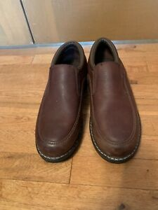 Shoes Size 12 D Pebbled Leather Brown