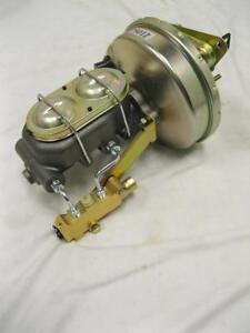 """1967 68 69 Camaro 9/"""" Power Brake Booster Kit GM AFX Side Mount Disc//Drum"""