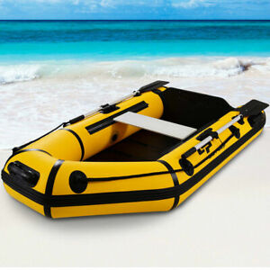 Goplus-2-Person-7-5FT-Inflatable-Dinghy-Boat-Fishing-Tender-Rafting-Water-Sports