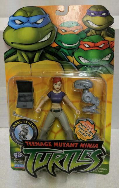 Playmates Teenage Mutant Ninja Turtles Tmnt 2003 April O Neil