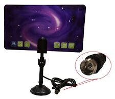New 1080 Digital Indoor HD TV HDTV DTV VHF UHF PC NB Flat High Gain Antenna