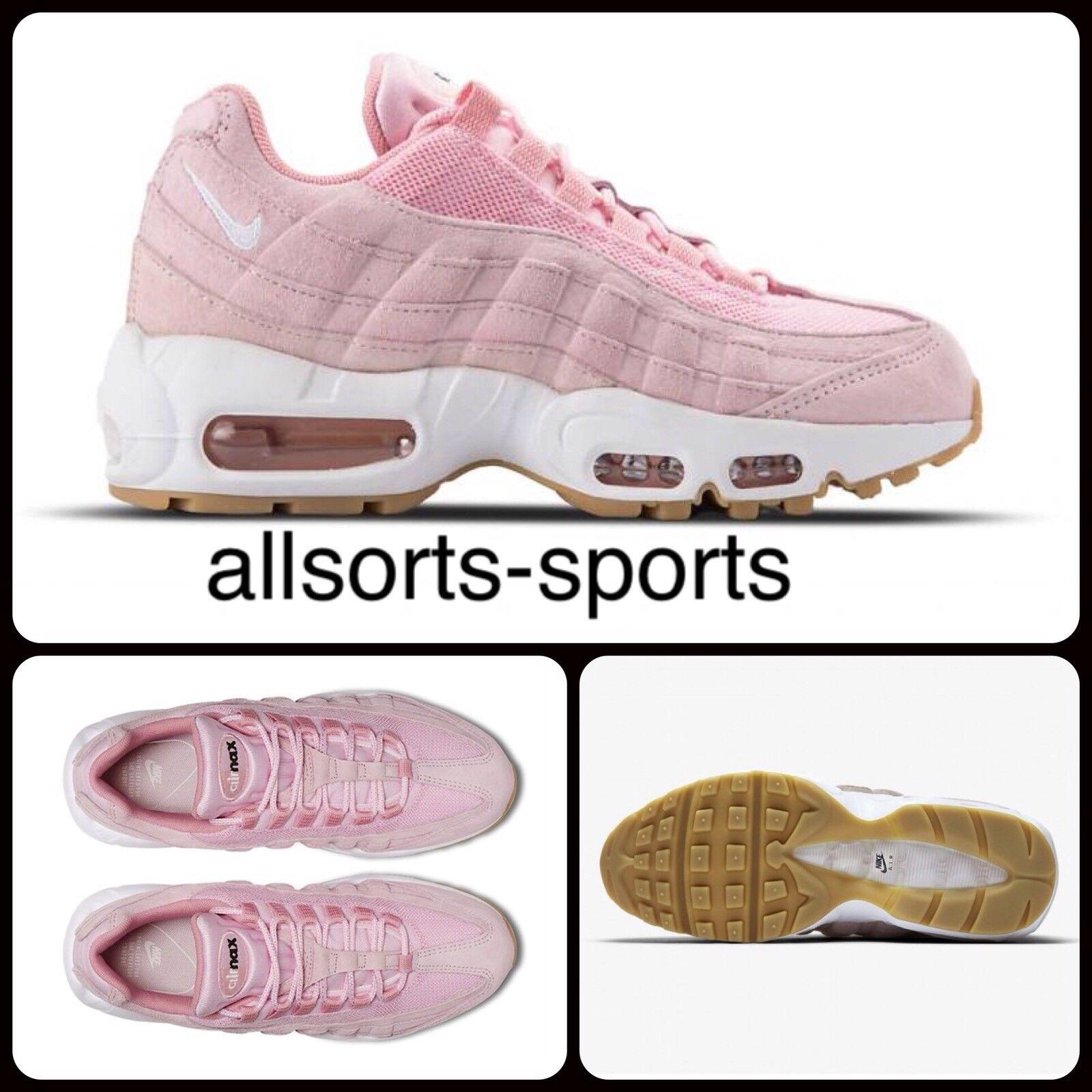 R82 Nike Bir Max 95 SD Women's UK 4 EUR 37.5 Prism Pink 919924-600