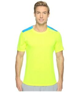 Brooks-211052340-Distance-Nightlife-Ultra-Blue-Men-039-s-Shirt-Double-Extra-Large