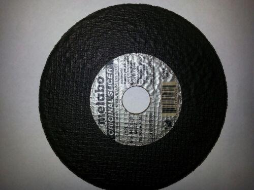 """50 pack Metabo Slicer 55.339 Cutoff Cutting Wheels 6/"""" x .040/"""" x 7//8/"""""""