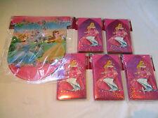30 Disney Princess Invitations and 12 ft Princess's Party Banner - Birthday Set