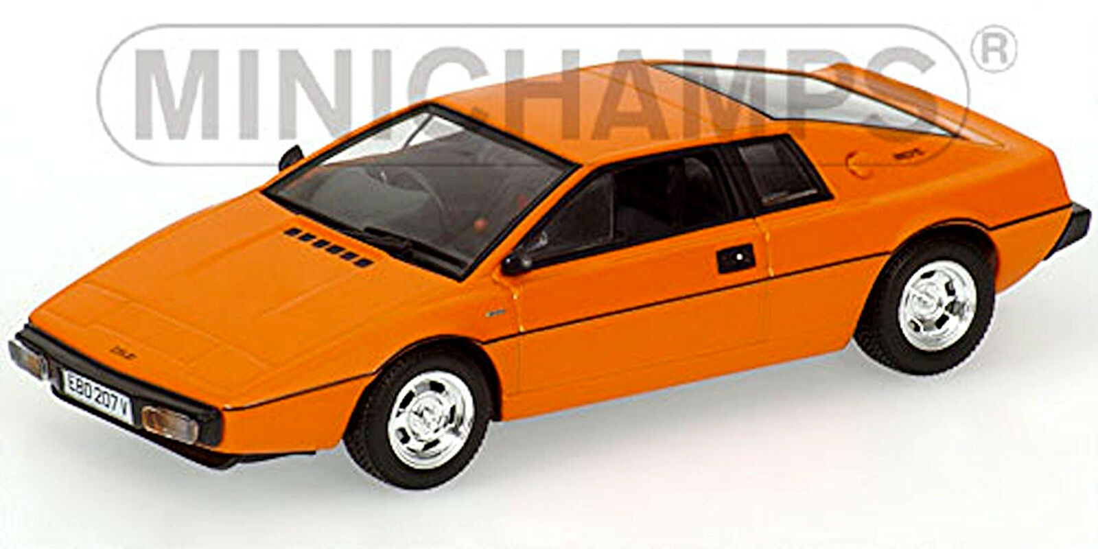 Lotus Esprit Coupé 1978-81 Pearl Orange 1 43 Minichamps