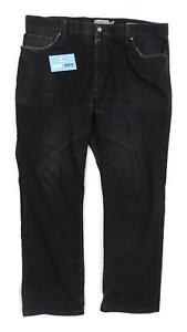 Marks-amp-Spencer-Mens-Black-Denim-Jeans-Size-W38-L29