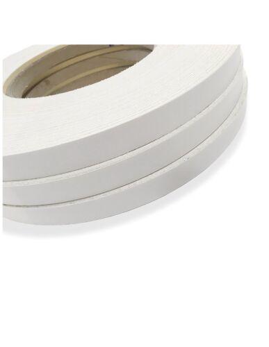 "PVC FROSTY WHITE PVC NON GLUED 2/""x600/' EDGEBANDING"