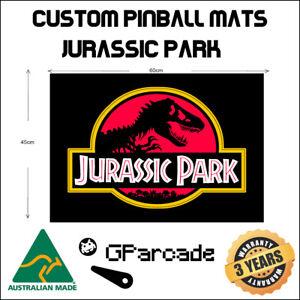 Jurassic Park Style Pinball Machine Mat 60 x 45cm Less Fatigue Non Slip Stern