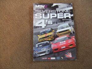 April-2009-Silverstone-MSVR-Super-4-039-s-Race-Meeting-Programme