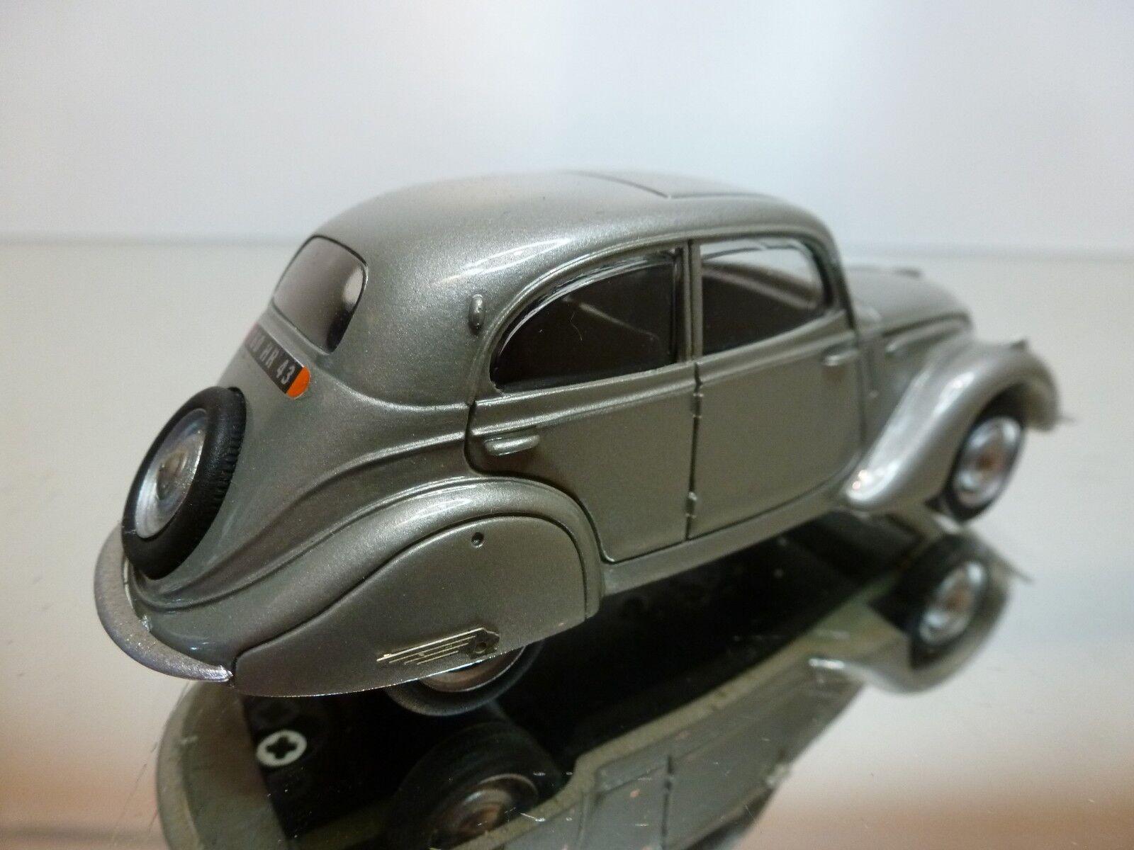 PARADCAR PEUGEOT 208 BERLINE 1938 - GREY METALLIC 1 1 1 43 - EXCELLENT CONDITION -12 e9d264
