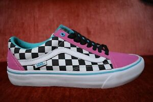 194050bbb89d VANS OLD SKOOL PRO S GOLF WANG ODD FUTURE Blue Pink White ...