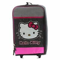 Hello Kitty Girls Backpack Black/pink Outdoor School Rolling Pilot Bag Kv3083064