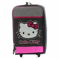 Hello Kitty Girls Backpack Black/pink Outdoor School Rolling Pilot Bag Kv3083064