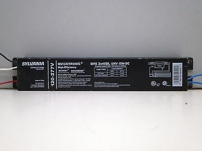 Sylvania Quicktronic QTP2X32T8 Fluorescent Ballast 120-277V FAST U.S SHIPPING!!