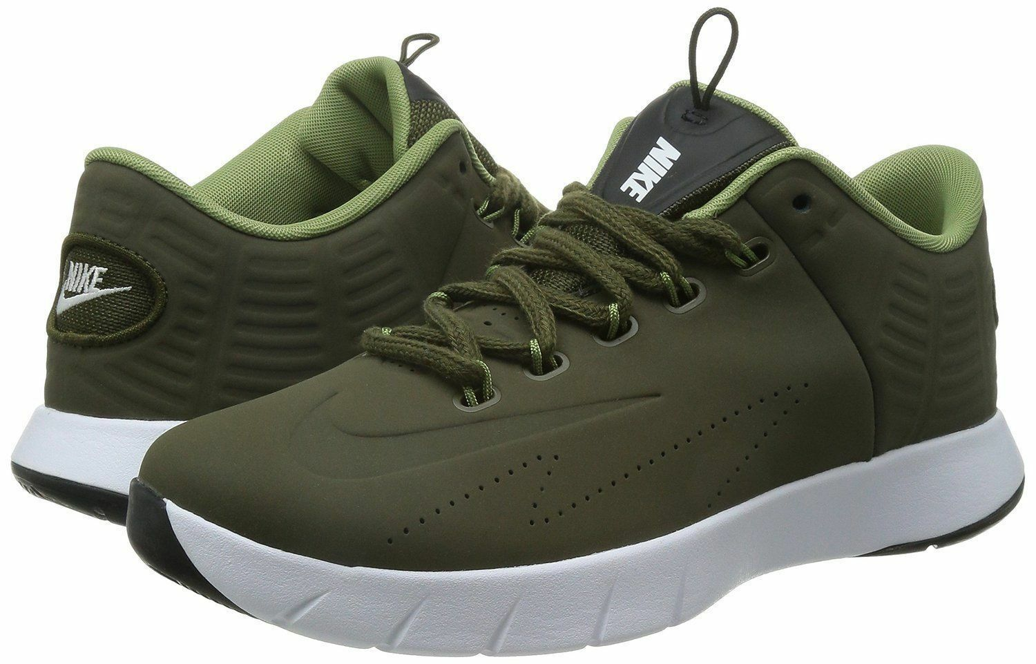 NIKE LUNAR HYPERREV LOW EXT SNEAKERS MEN SHOES OLIVE 802557-300 SIZE 11.5 NEW