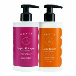 Arata Hair Fall Control Combo withPower of 5 in 1 Super Shampoo and Conditioner