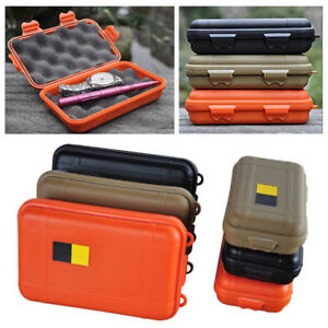 Punctual Outdoor Military Shockproof Survival Kit Case Waterproof Airtight Camping Travel Gear Carry Emergency Box Safety & Survival