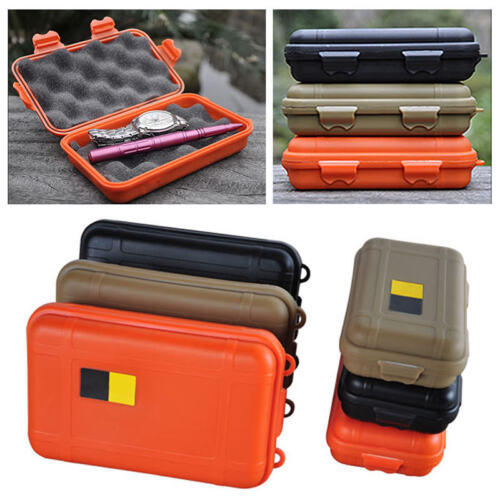 Waterproof Shockproof Plastic Outdoor Survival Container Storage Case Carry Box