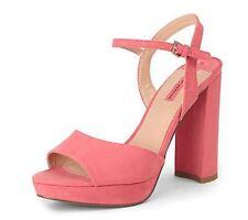 Dorothy Perkins Pink Sicily Platform Sandals UK 5 EU 38 LN10 19