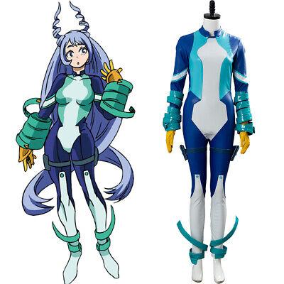 My Hero Academia Season 4 Nejire Hado Big Three Cosplay Costume Uniform Jumpsuit Ebay