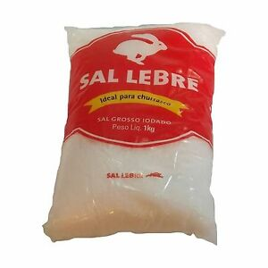 Thick Barbecue Salt - Sal Grosso para Churrasco - Lebre - 32.27... Free Shipping
