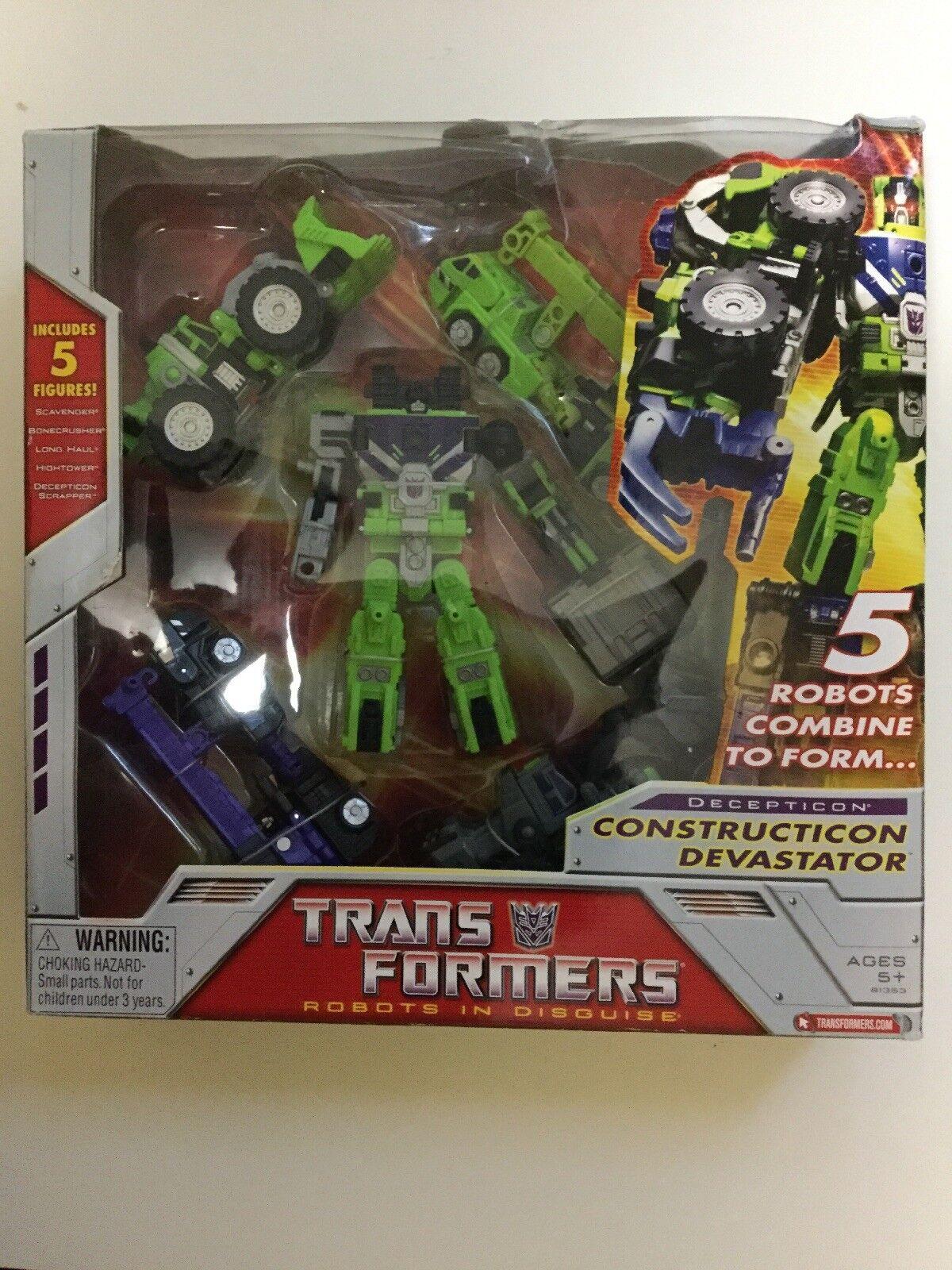 Transformers Robots in Disguise RID Decepticon Constructicon Devastator