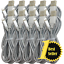 miniature 1 - Wholesale Lot 6ft Braided USB Fast Charger Cable For iPhone 11 8 7 Charging Cord