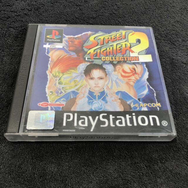 PS1 Street Fighter Collection 2 EUR Très bon état