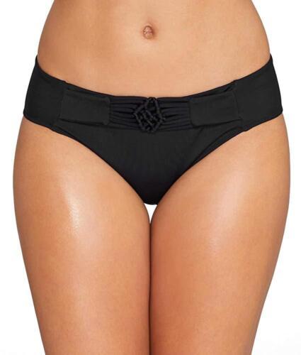US Small Freya Noir MACRAME Bikini Swim Bottom