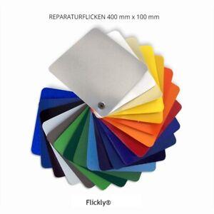 flickly planen reparatur pflaster 40cm x 10cm selbstklebend zelte anh nger lkw ebay. Black Bedroom Furniture Sets. Home Design Ideas