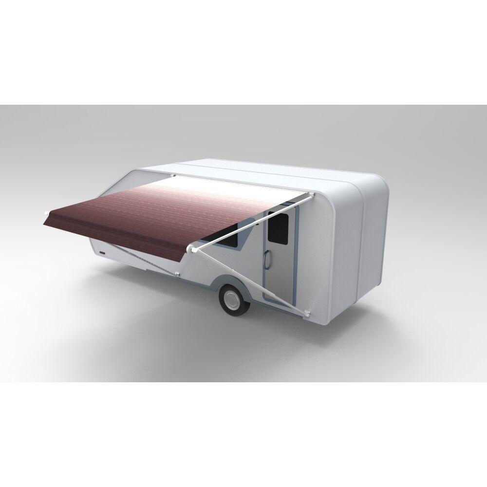 Aleko Impermeable Vinilo vehículos recreativos Tela del toldo reemplazo 15X8 pies Color Borgoña Fade