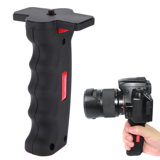 Wide Platform Pistol Camera Handle Grip Holder Monopod 1/4