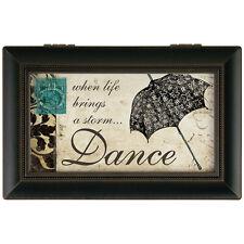 Life Storm Dance Music Box Plays Waltz of Flowers Jewelry Memories