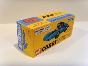 CORGI TOYS Nº 347-Chevrolet Astro Auto. superba, visualizzazione personalizzata/repro box.