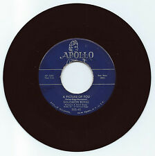 R & B 45 SOLOMON BURKE A PICTURE OF YOU  ON APOLLO  STRONG VG ORIGINAL