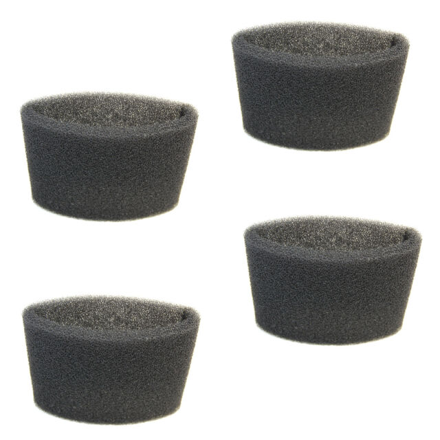 4x Foam Filter Sleeves for Shop-Vac 2015 2010A 2015A 3333.OH 500M 500X 6045 6060