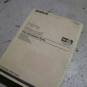 CAT Caterpillar 740 Dump Truck Parts Manual Book Catalog quarry spare 2001 rock